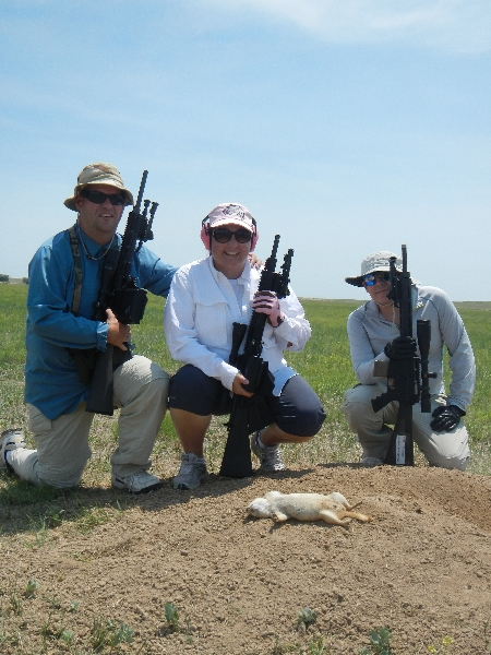 Prairie dog hunting at longmeadow