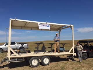 Longmeadows new prairie dog hunting trailer