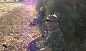 Photo of Colorado Dove hunters at Longmeadow game resort