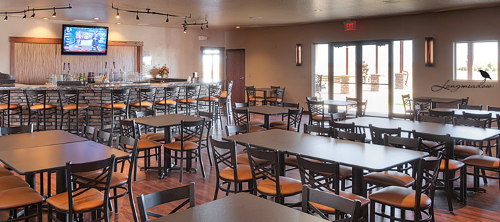 Wedding Reception Bar and Lounge at Longmeadow Event Center and Game Resort