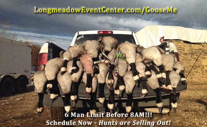 Goose hunting in Longmont can be the most productive along the Front Range in Colorado