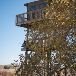 A sporting clays tower at longmeadow event center