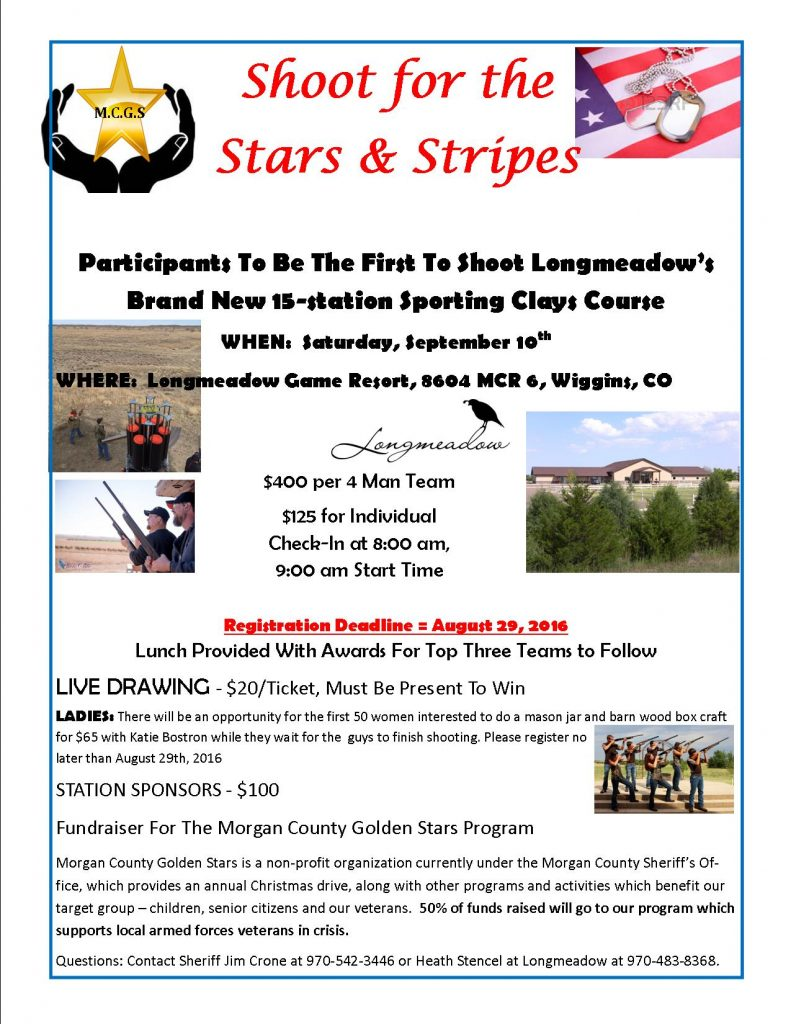 MC Golden Stars Sporting Clays Flyer