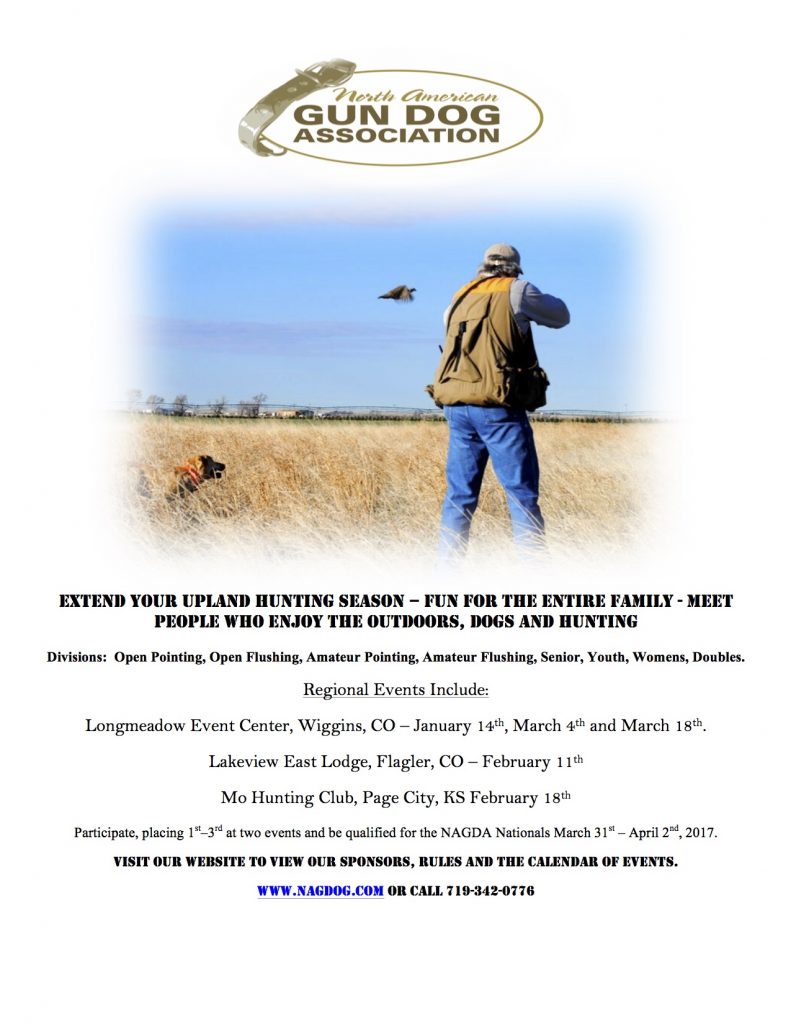 North American Gun Dog Association Shoot