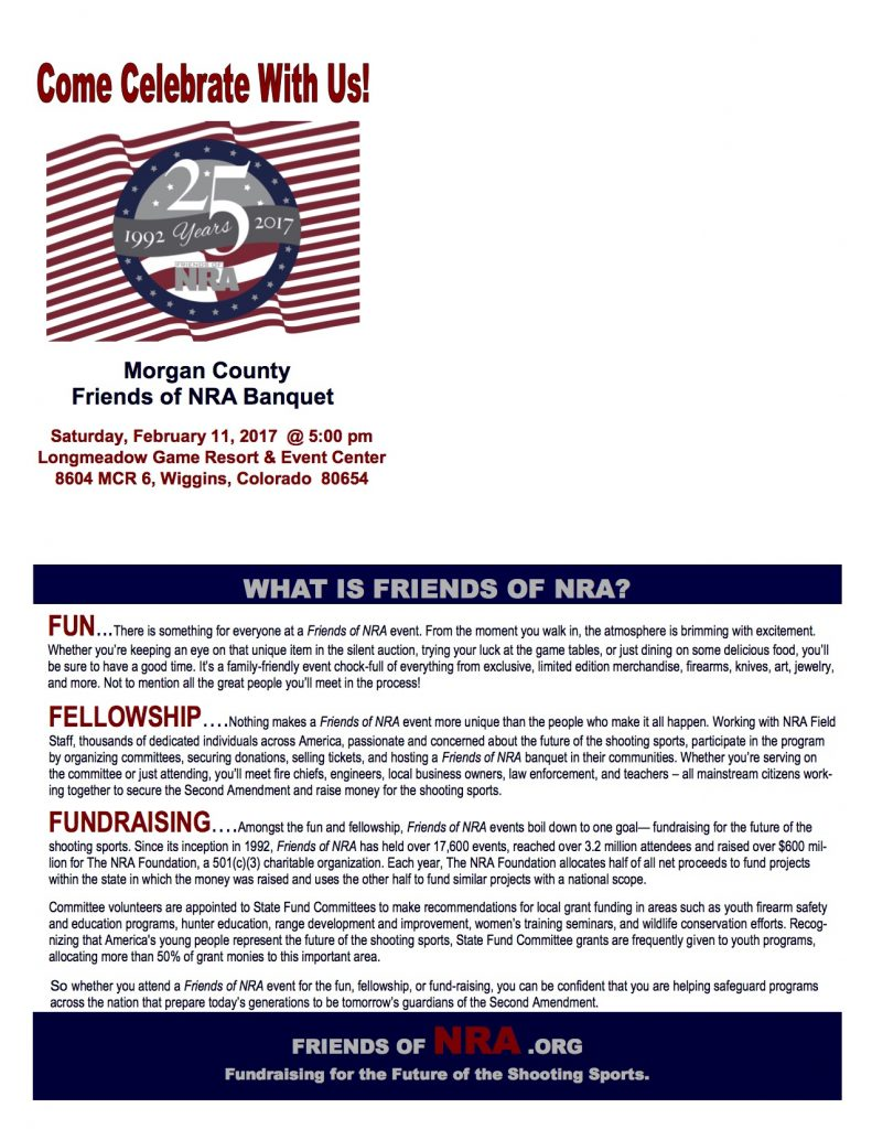 Morgan County Friends of the NRA