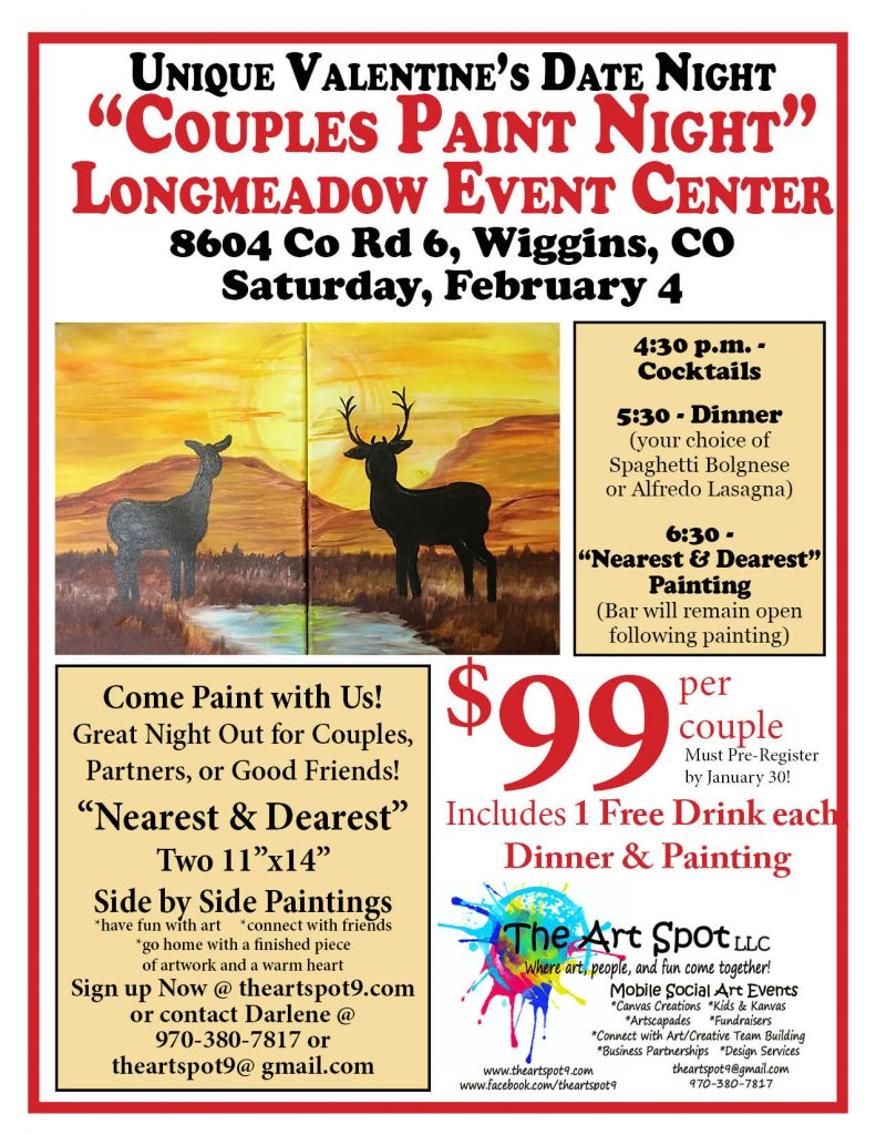 Couples Paint Night at Longmeadow