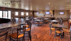 bar and dinning area at longmeadow