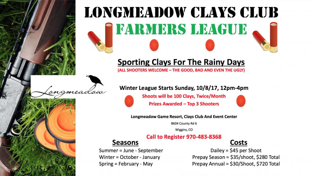 Winter Farmers League 2017 Flyer