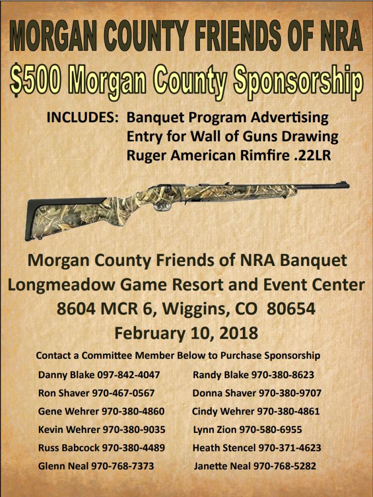 MCFNRA Sponsorship Flyer
