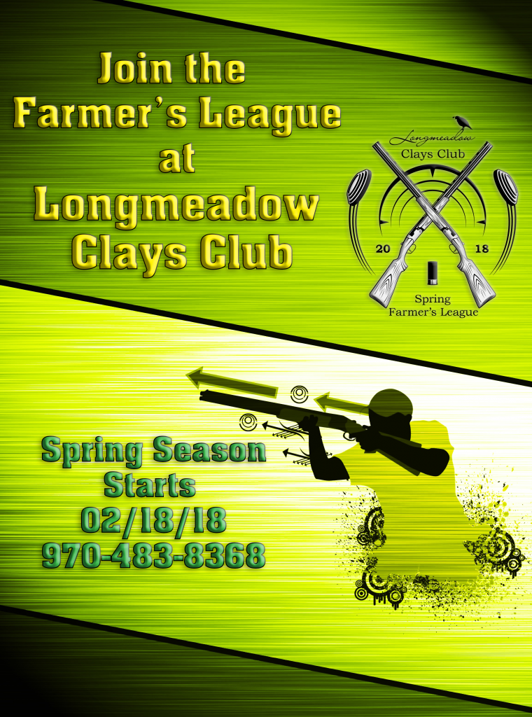 Longmeadow Clays Club - Spring Farmer's League Ad 3