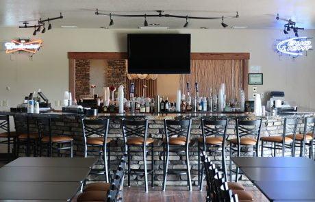 the long bar at longmeadow event center