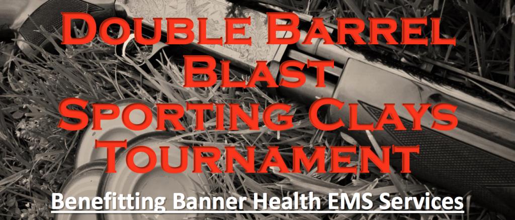 Double Barrel Blast Event Flyer - Longmeadow Clays Club