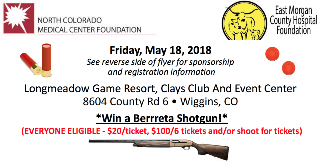 Double Barrel Blast - Enter to win Flyer - Longmeadow Clays Club