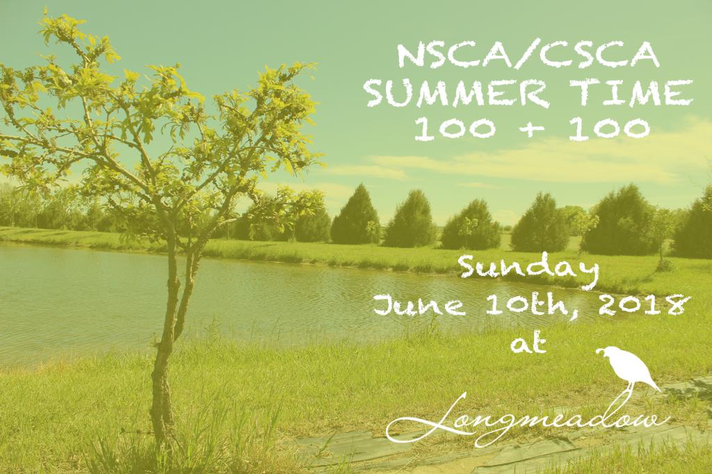 NSCA Summer Time 100 + 100 - Longmeadow Clays Club