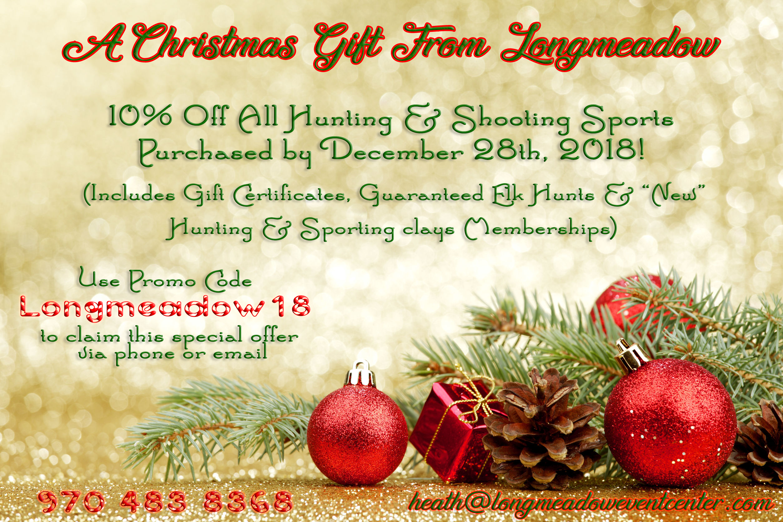 2018 Christmas Special Flyer