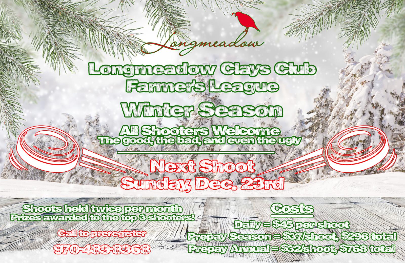2018 Winter League Next Shoot Promo