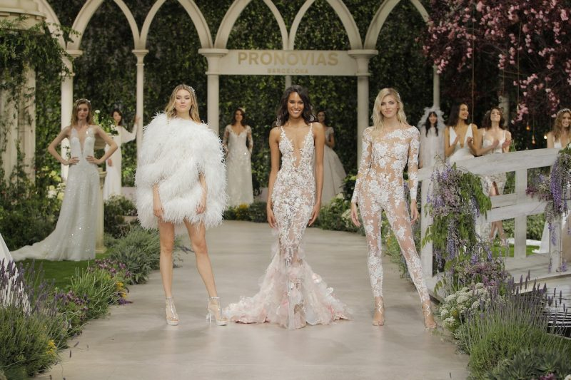 "Three sexy women in outlandish ""wedding Dresses"" - Sexiest Wedding Dresses 2019"