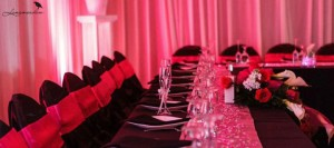 Wedding Slider reception hall setup