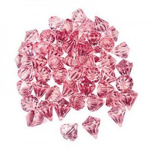 plastic gemstone decorations