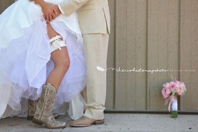 Sexiest Wedding Shoes Longmeadow Event Center--boots2