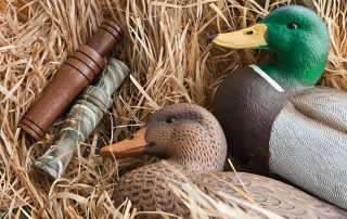 duck decoys and duck calls