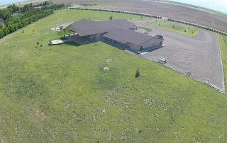 longmeadow event center from birds eye view
