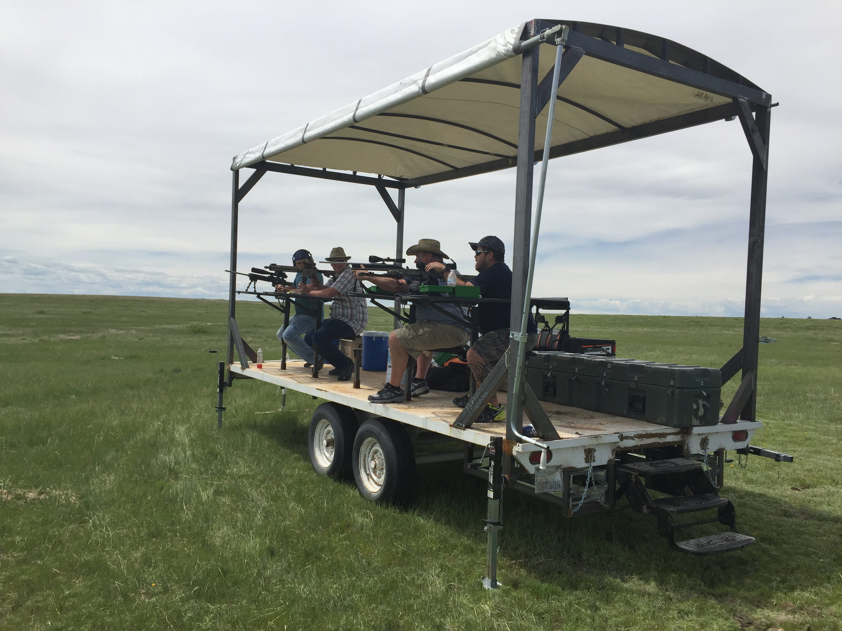 Prairie Dog Trailer at Longmeadow Game Resort - Colorado Prairie Dog Hunting