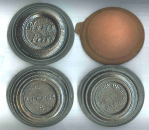 Antique Clay pigeons, clays