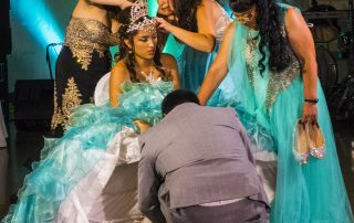 the shoe ceremony - Quinceaneras at Longmeadow