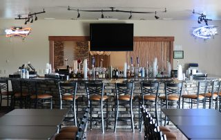 the long bar at longmeadow event center