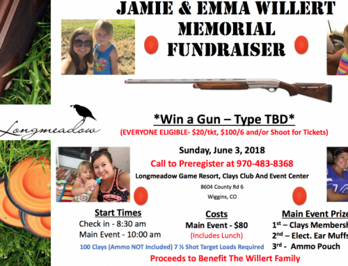 Jamie and Emma Willert Memorial Fundraiser Shoot