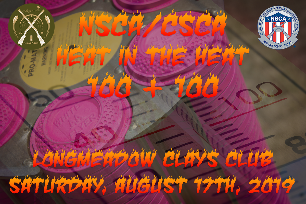 NSCA Heat in the Heat 100 + 100 Event Flyer
