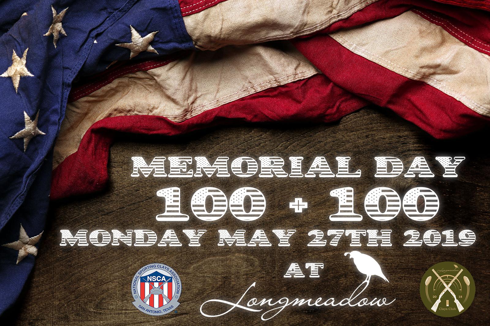 Longmeadow 100 + 100 Memorial Day 2019