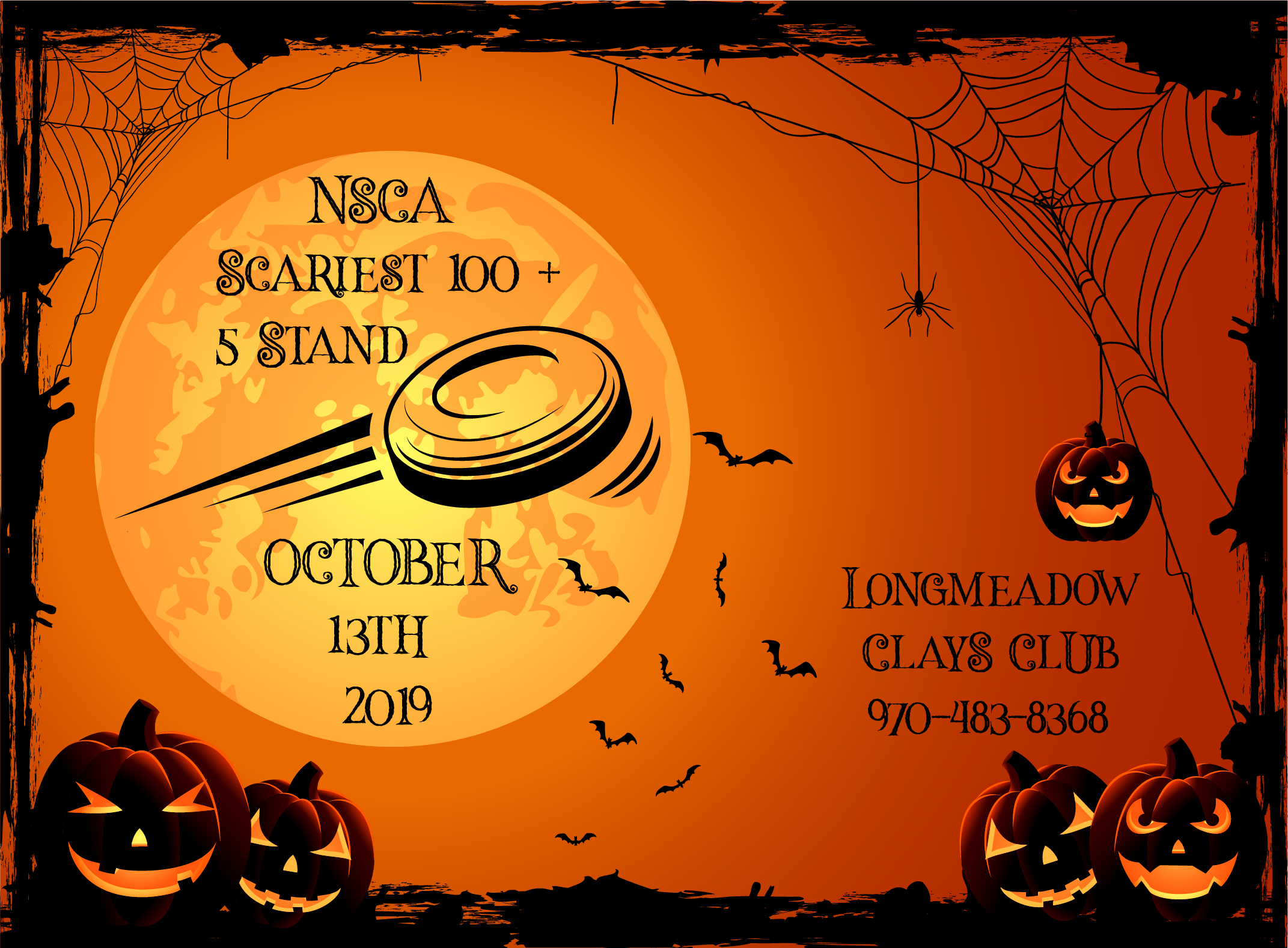 NSCA Scariest 100 + 5 Stand at Longmeadow Clays Club
