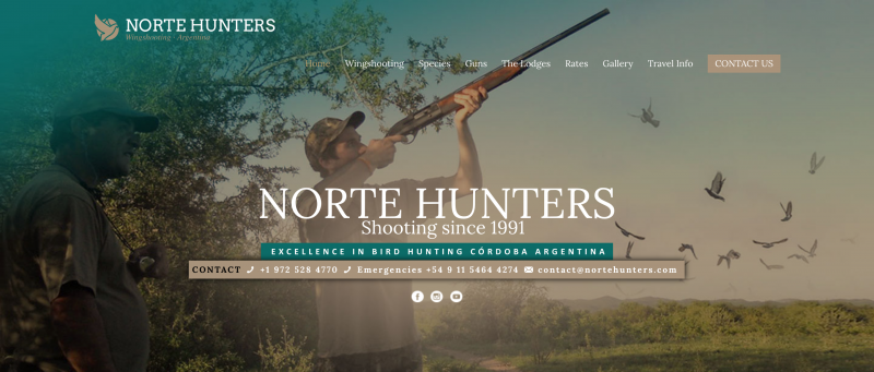 Norte Hunters - Dove Hunting in Argentina