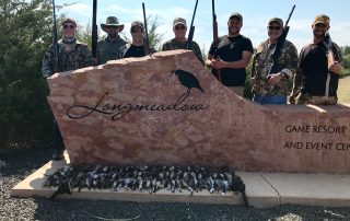Dove Hunters with Their Birds at Longmeadow Clays Club