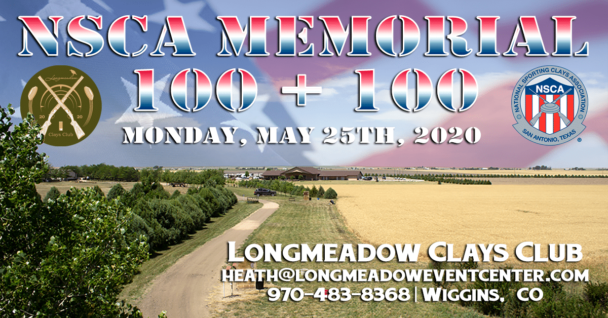 NSCA Memorial 100 + 100 Event Flyer